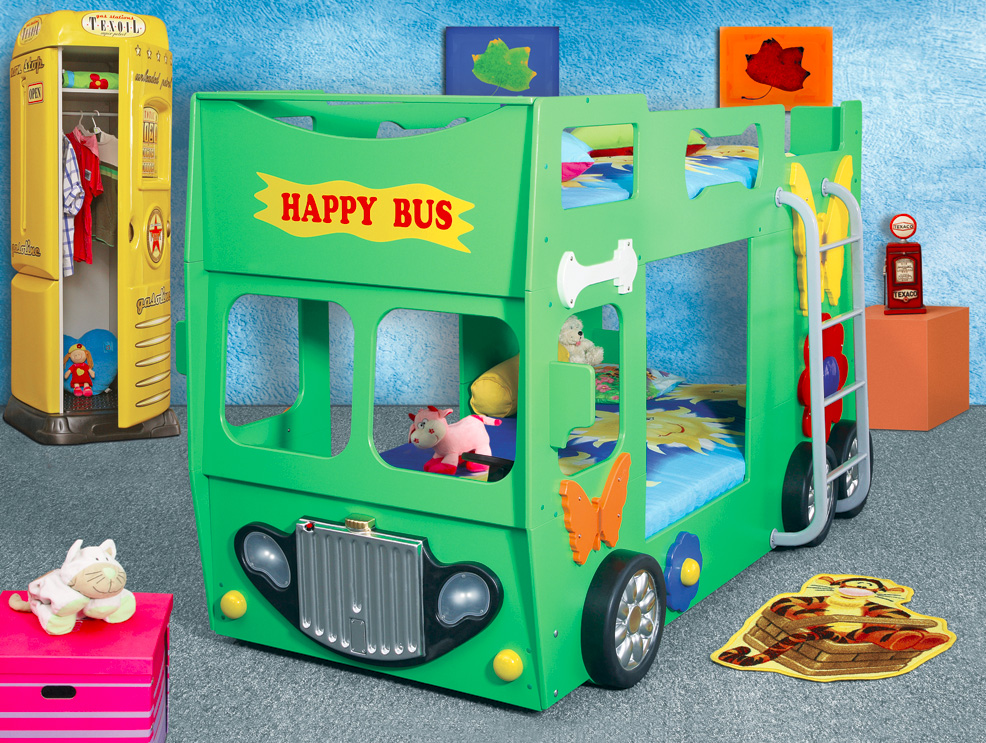 Patrová postel HAPPY BUS