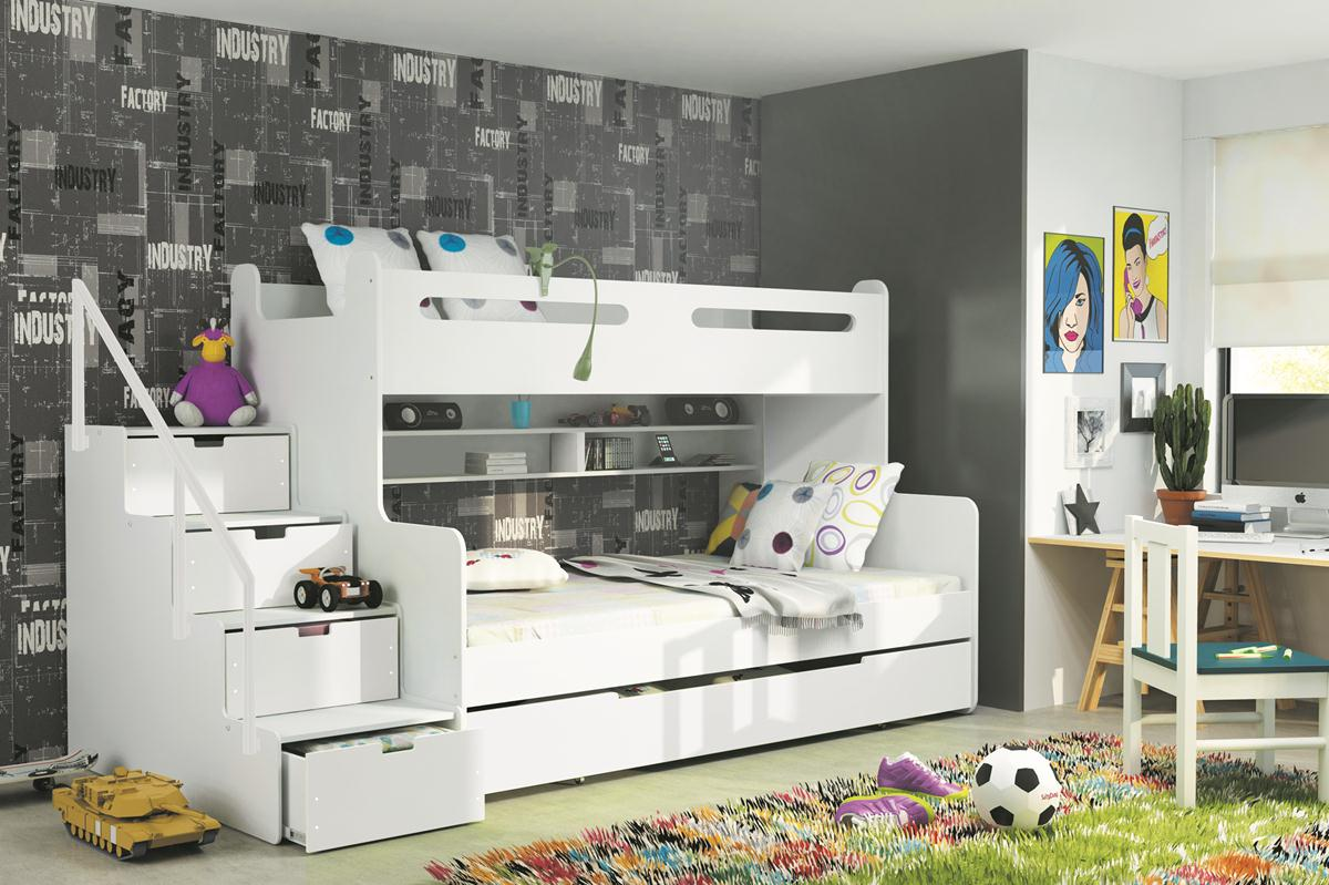 postele pro 3 d ti baby postele. Black Bedroom Furniture Sets. Home Design Ideas